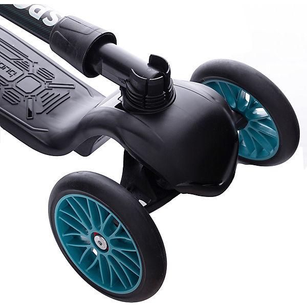 Трехколесный самокат Sport Model, бирюзовый
