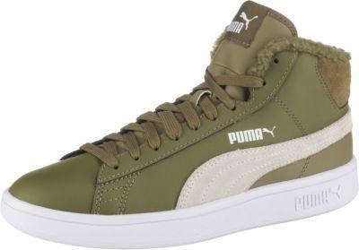Sneakers High SMASH V2 MID L FUR für Jungen, PUMA