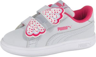 puma Mädchen Schuhe Glitzer pink 25