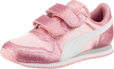 Sneakers Low CABANA RACER GLITZ V PS für Mädchen, PUMA