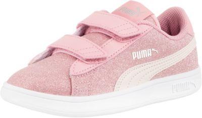 Sneakers Low SMASH V2 GLITZ GLAM V PS für Mädchen, PUMA