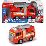Пожарнаая машина Dickie Toys Happy свет, звук, 25 см