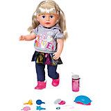 Интерактивная кукла Zapf Creation Baby born Сестричка, 43 см
