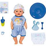 """Интерактивная кукла Zapf Creation My Little Baby Born """"Нежное прикосновение"""" Мальчик, 36 см"""