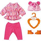 Одежда для куклы Zapf Creation My Little Baby Born Куртка, штанишки и ботинки