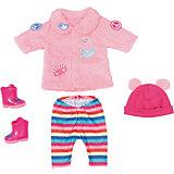 Одежда зимняя для модниц Zapf creation Baby born