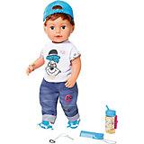 Интерактивная кукла Zapf Creation Baby born Братик, 43 см