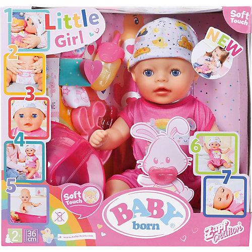 "Интерактивная кукла Zapf Creation My Little Baby Born ""Нежное прикосновение"" Девочка, 36 см от Zapf Creation"
