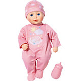 Кукла Zapf Creation my first Baby Annabell с бутылочкой, 30 см