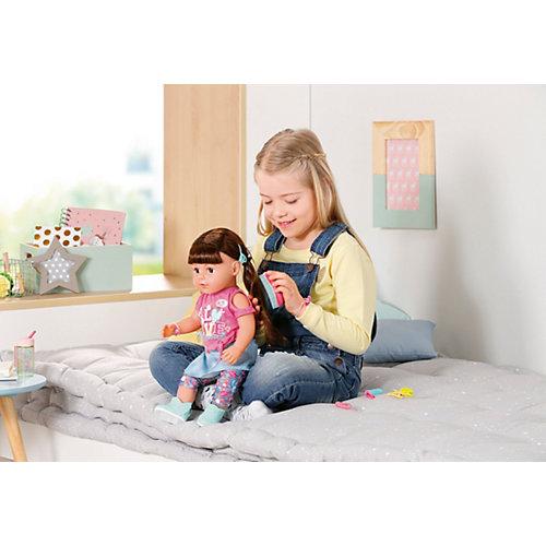 Интерактивная кукла Zapf Creation Baby born Сестричка брюнетка, 43 см от Zapf Creation