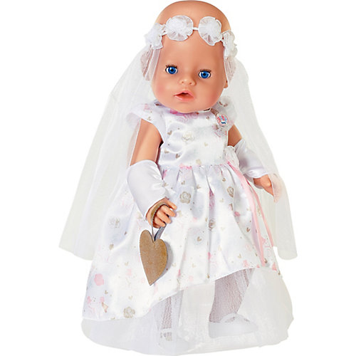 Одежда для куклы Zapf Creation Baby Born Наряд невесты, делюкс от Zapf Creation