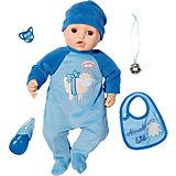 Многофункциональная кукла-мальчик Zapf Creation Baby Annabell, 43 см