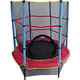 Батут DFC Trampoline Fitness с сеткой, 140 см