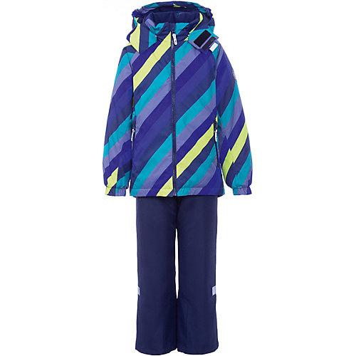 Комплект BJÖRKA: куртка и брюки - зеленый от BJÖRKA