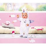 """Одежда для куклы Zapf Creation Baby Born """"Сказочный единорог"""", 43 см"""