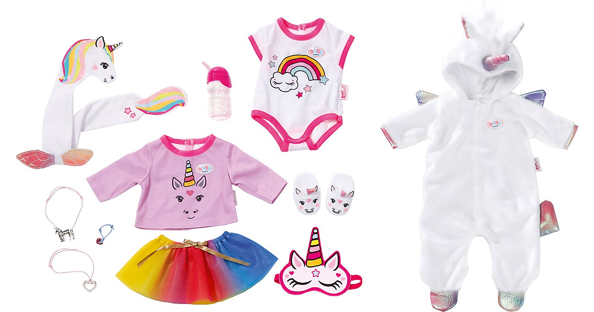 Exklusiv BABY born® Great Value Set Unicorn