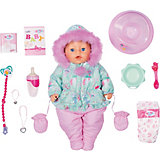Интерактивная кукла Zapf Creation Baby Born Зимняя, 43 см