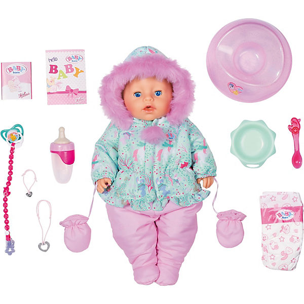 Exklusiv BABY born Soft Touch Winter Edition 43cm
