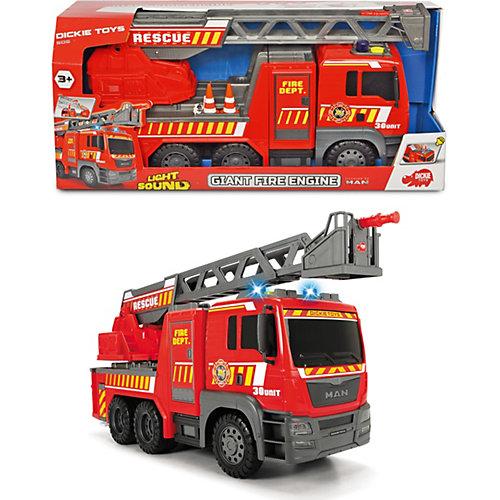 Пожарная машина Dickie Toys MAN, 54 см, свет и звук от Dickie Toys