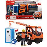 """Игровой набор Dickie Toys Playlife """"Санитарный сервис"""", 7 аксессуаров, 21,5 см"""