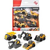 Набор строительной техники Dickie Toys Volvo