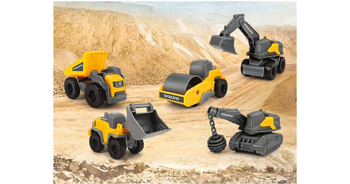 Volvo Construction 5 Pack