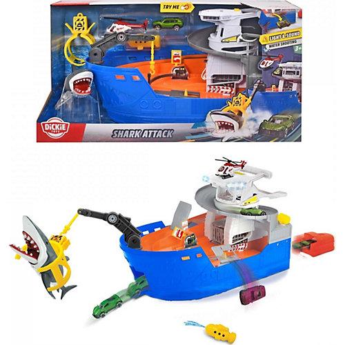 "Игровой набор Dickie Toys ""Атака акулы"", 50 см, свет и звук от Dickie Toys"