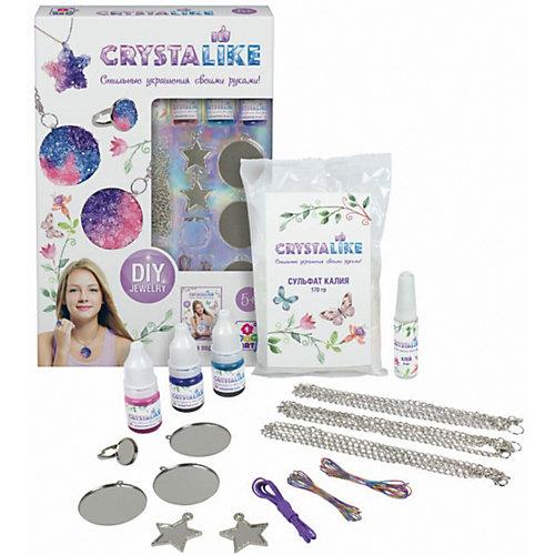Набор для создания украшений 1Toy Crystalike, 5 подвесок, кольцо