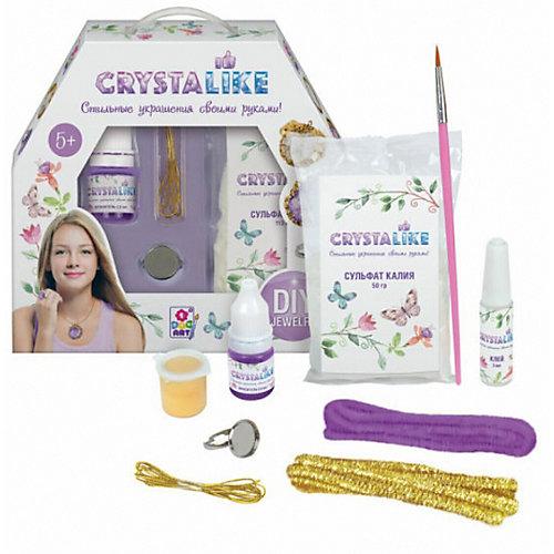 Набор для создания украшений Crystalike, кольцо, 2 подвески из шенилла от Crystalike