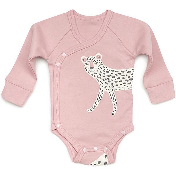 Комплект: боди и нагрудный фартук Happy Baby для девочки