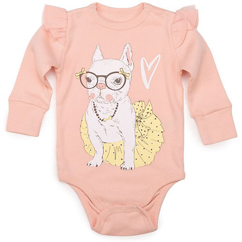 Боди 2 шт Happy Baby для девочки - розовый от Happy Baby