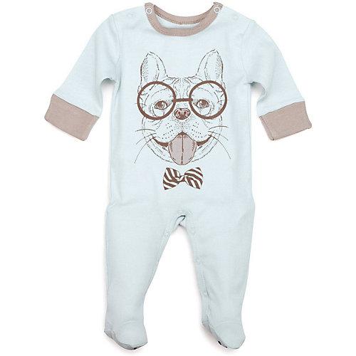 Комбинезон 2 шт Happy Baby для мальчика - голубой от Happy Baby