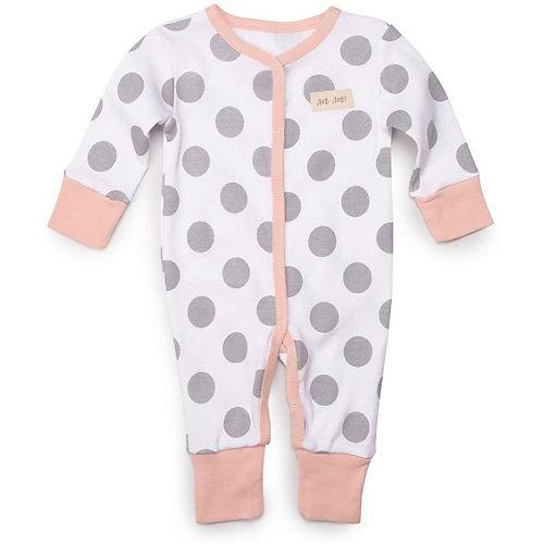 Комбинезон 2 шт Happy Baby для девочки - розовый от Happy Baby