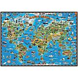 Детская карта мира, настольная