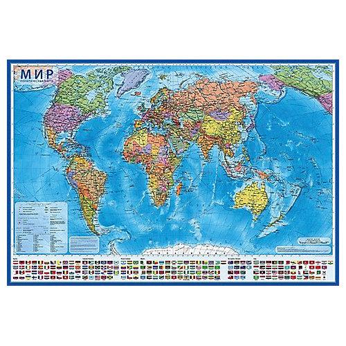 """Карта """"Мир Политический"""" от Globen"""