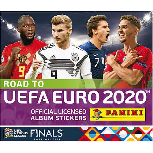 Наклейки Panini ROAD TO EURO2020 от Panini