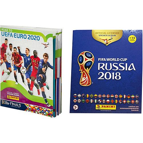 "Альбомы Panini ROAD TO EURO2020, ""Чемпионат Мира по футболу 2018"" от Panini"
