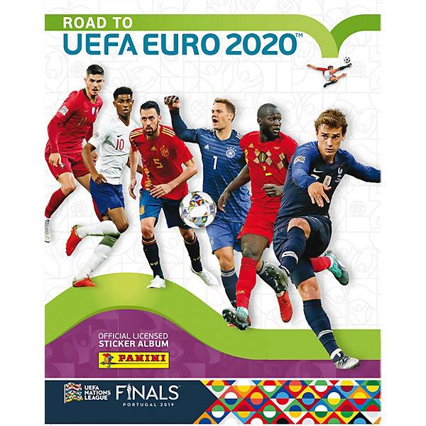 Альбом Panini ROAD TO EURO2020