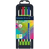 Набор капиллярных ручек Schneider Novus Line-Up, 4 цвета