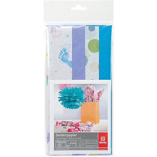 Набор бумаги тишью Werola Sweet, 4 листа, 50х76 см от Werola