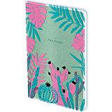 Записная книжка Greenwich Line Tropical trend, 80 листов