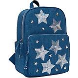 Рюкзак Феникс+ «Звезды» синий