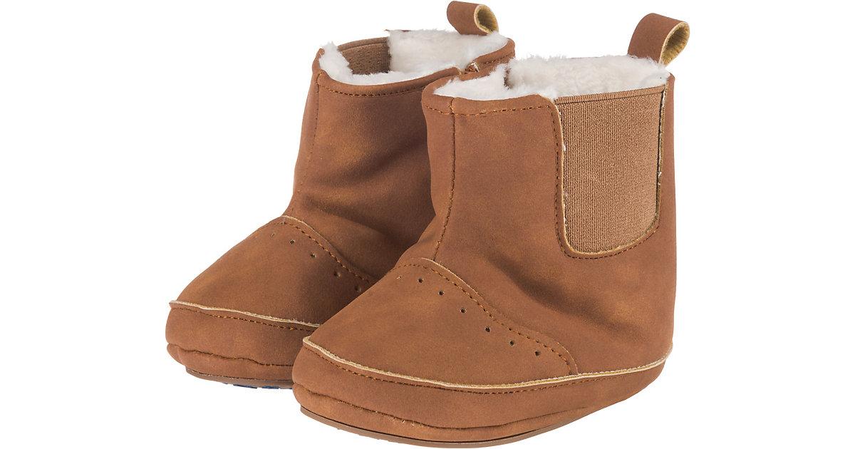 Baby-Schuh - Halbschuhe - braun Gr. 18 Jungen Baby