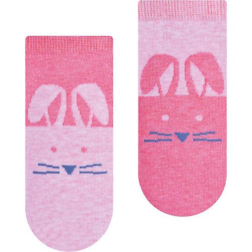 Укороченные носки Steven - блекло-розовый