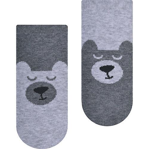 Укороченные носки Steven - серый