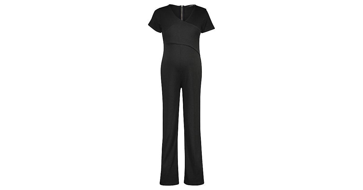 SUPERMOM · Jumpsuit Black Rib Gr. 146/158 Damen Kinder