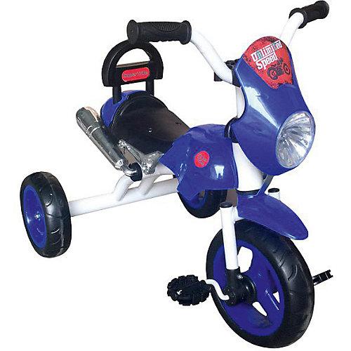 Трехколесный велосипед Lexus Trike Super Trike Moto, синий от Lexus Trike