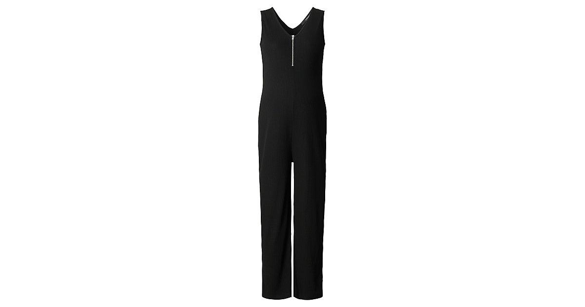 SUPERMOM · Jumpsuit Black Zip Gr. 176/182 Damen Kinder