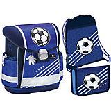 Ранец Belmil Classy Soccer, с наполнением, синий
