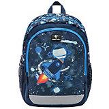 Дошкольный рюкзак Belmil Kiddy Plus Rocket, синий